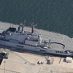 Italian aircraft carrier 'Giuseppe Garibaldi' (V551)