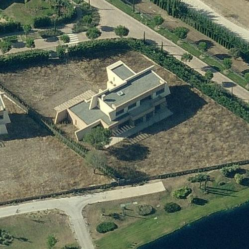 Cristiano ronaldo 39 s house in madrid spain google maps 2 - Casa de cr7 en madrid ...