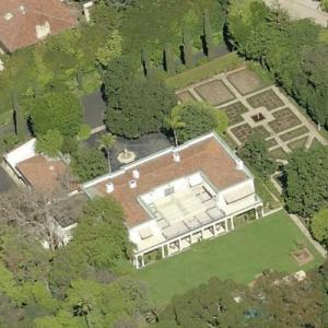 Tom Ford's House (Formerly Betsy Bloomingdale's) (Birds Eye)