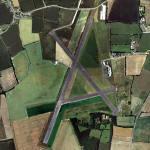RAF Tibbenham (closed) (Bing Maps)