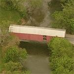 Bitzer's Mill Covered Bridge (Birds Eye)
