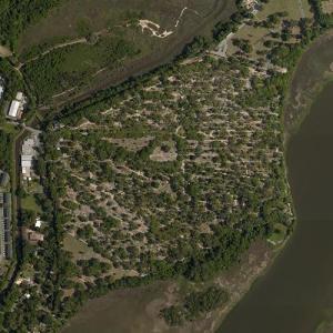 Bonaventure Cemetery (Bing Maps)