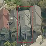 Janis Joplin's house (former) (Birds Eye)