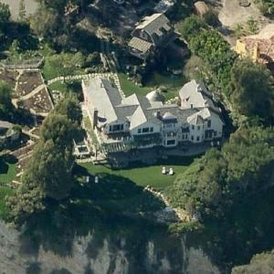 Barbra Streisand's House (Birds Eye)