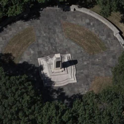 Wright Brothers Monument (Birds Eye)