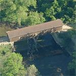 Creek Road Covered Bridge (Birds Eye)