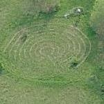 Kripalu Yoga and Wellness Center Labyrinth (Birds Eye)