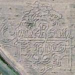 Anderson Farms Corn Maze (Bing Maps)