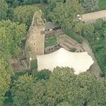 Castle Wilhelmstein (ruin) (Birds Eye)