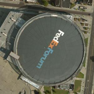 FedEx Forum (Bing Maps)