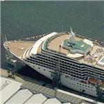 P&O Cruise Line's MS Arcadia