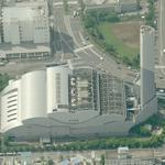 Minato Waste Incineration and Power Plant (Birds Eye)