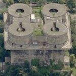 Flakturm V G-Tower (WWII German Flak Tower) (Birds Eye)