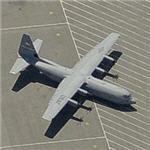 USAF C-130J-30 'stretched' aircraft (Birds Eye)