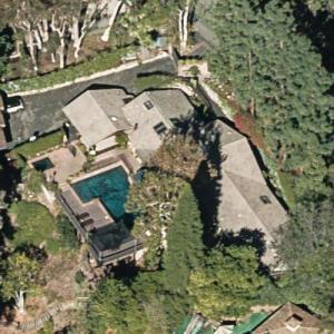 Tony Franciosa's House (former) (Bing Maps)