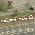 Folsom Dam (Birds Eye)