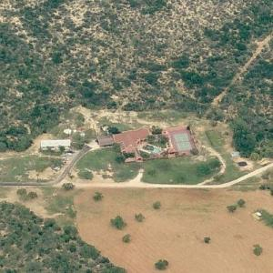George Strait's Ranch House (Birds Eye)