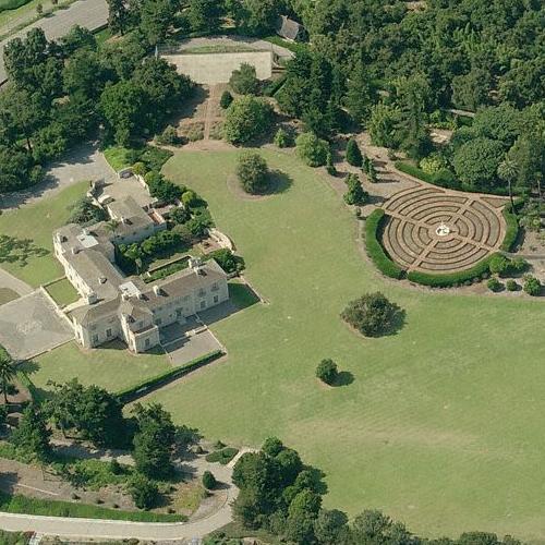 Celebrity homes montecito maps