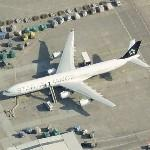 Airbus A340 in Star Alliance livery (Lufthansa) (Birds Eye)