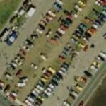 Car show at Daytona Speedway (Bing Maps)