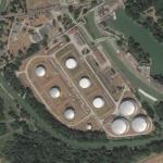 Százhalombatta Oil Refinery (Bing Maps)