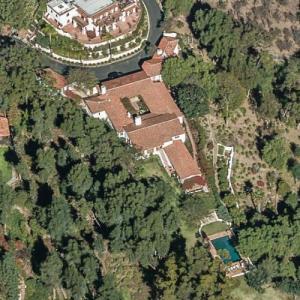 Adrian Lyne's House (Bing Maps)
