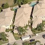 George and Beverly Rawlings' house (Birds Eye)