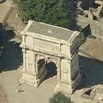 Arch of Titus (Birds Eye)