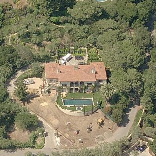 Al Gore S House In Montecito Ca Google Maps 3