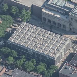 'Center for British Art' by Louis Kahn (Birds Eye)