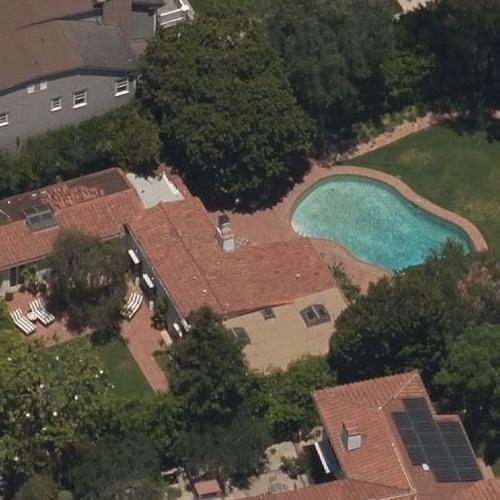 Marilyn Monroe's Last Residence (Birds Eye)