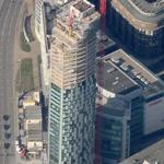 West Tower under construction (Birds Eye)