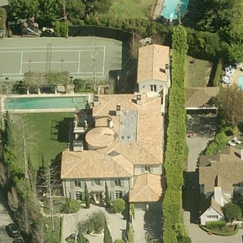 Photo: house/residence of the cool 2 million earning Los Angeles, California-resident