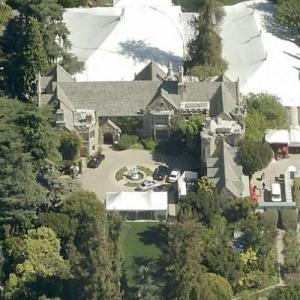 Hugh Hefner's Home (Playboy Mansion) (Bing Maps)