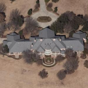 Kenneth Copeland's house (Birds Eye)