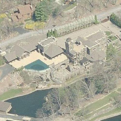 Derek Jeters House Tiedemann Castle In Greenwood Lake Ny Google