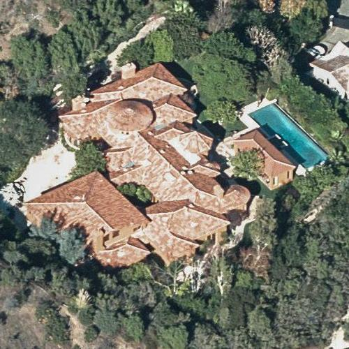 Bruno Mars' House (Birds Eye)