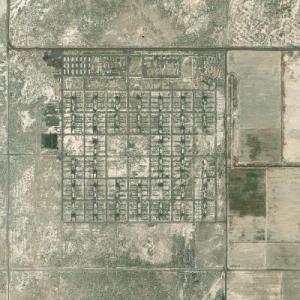 Topaz War Relocation Center (Bing Maps)
