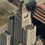 Bank of America Building (tallest building in Rhode Island) (Birds Eye)