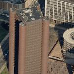"""Knights of Columbus Building"" by Kevin Roche (Birds Eye)"