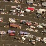 Flea Market @ Van Buren Drive-In Theatre (Birds Eye)